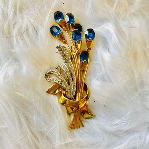 COPY - Vintage Sapphire brioche